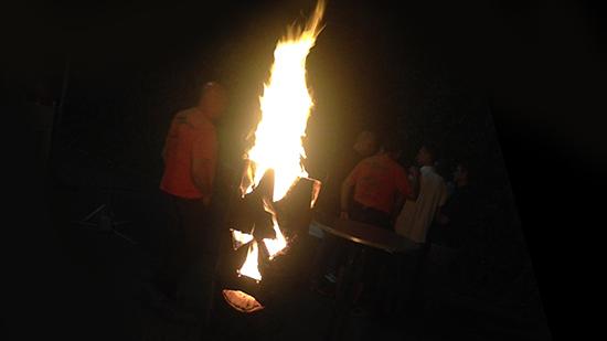 Tauchinsel-Geister am Sommerfest