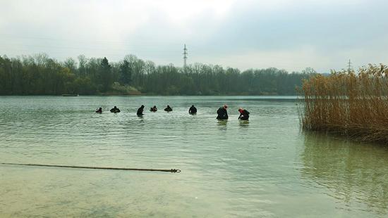 Antauchen Sinninger See