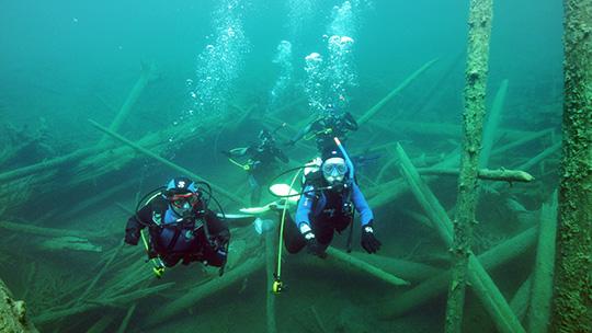 Fun Dive im Blindsee