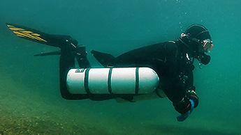 Sidemount Tauchen
