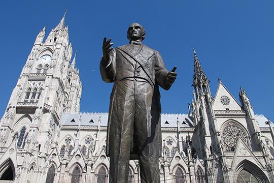 Denkmal in Quito