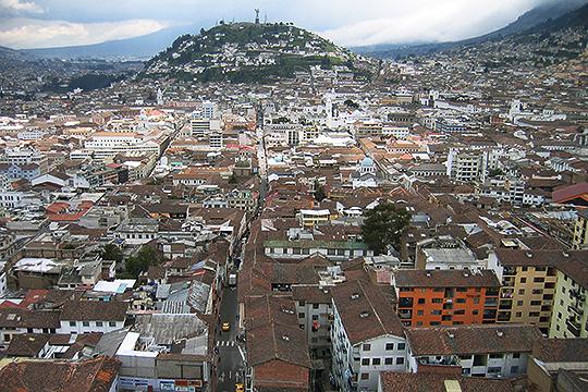 Hauptstadt von Ecuador - Quito