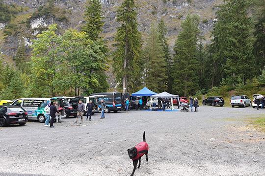 Parkplatz am Blindsee